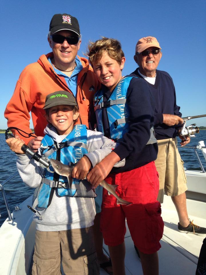 Fox Catcher Charters: Little Guy Fishing Trips