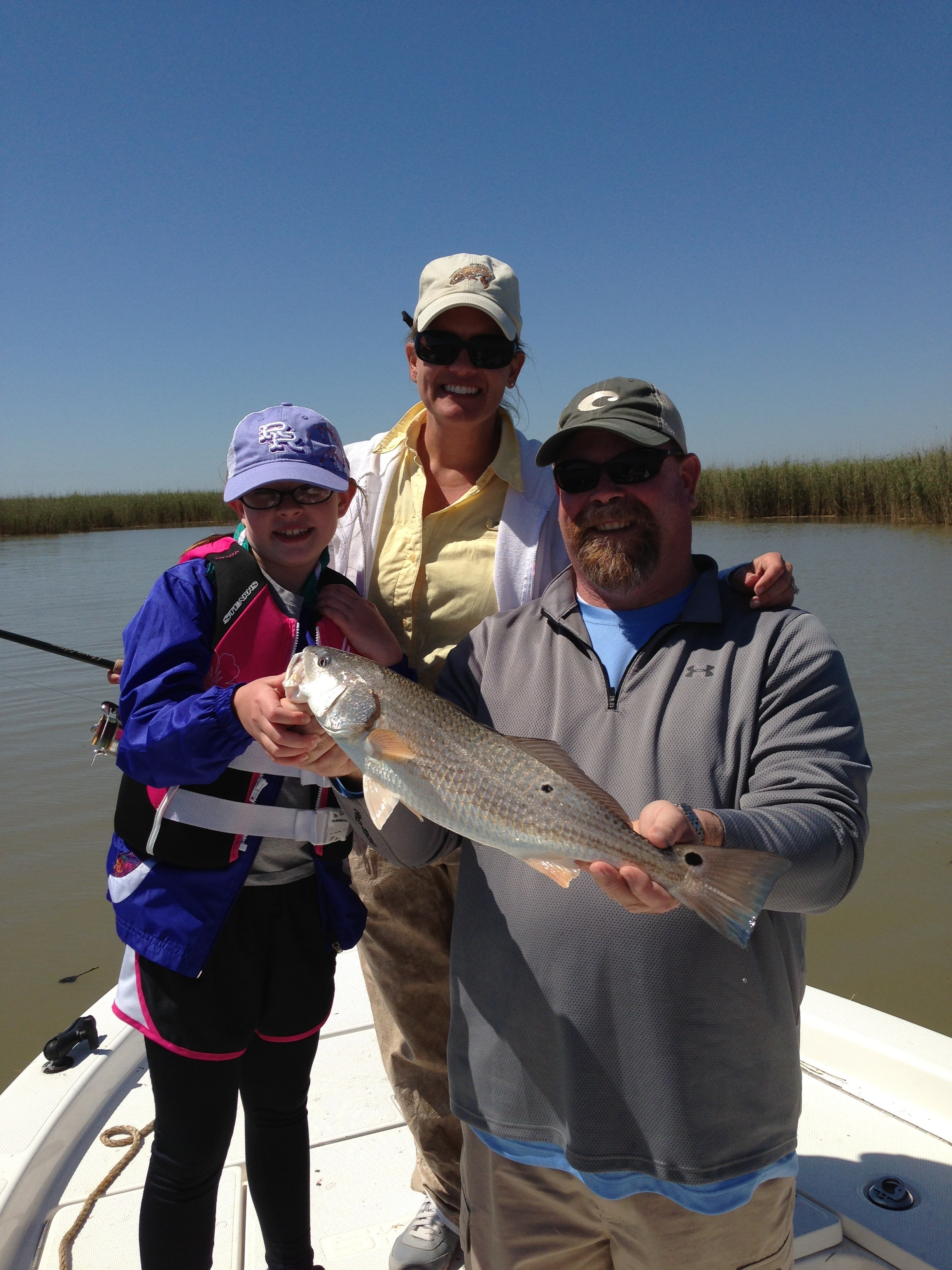 Louisiana Inshore Adventures: 3 Person Charter