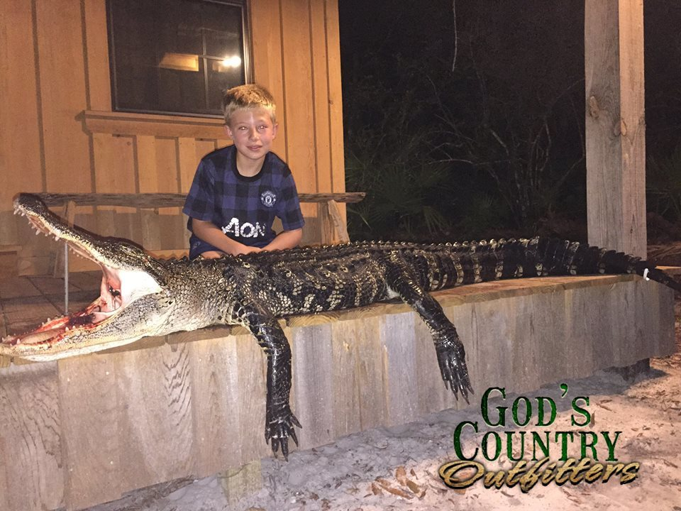 God's Country Outfitters Florida: Single Gator Hunt