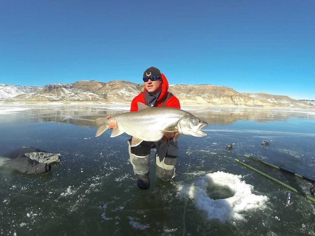 High Mountain Drifters Guide Service: Ice Fishing Trip