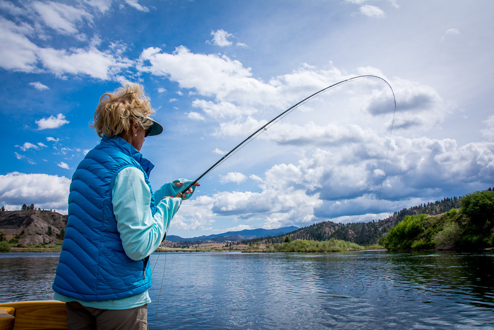 Montana Trout Outfitters: Half day float trip