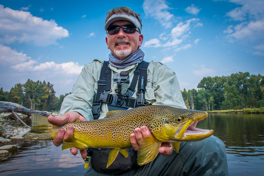 Montana Trout Outfitters: Full day wade trip