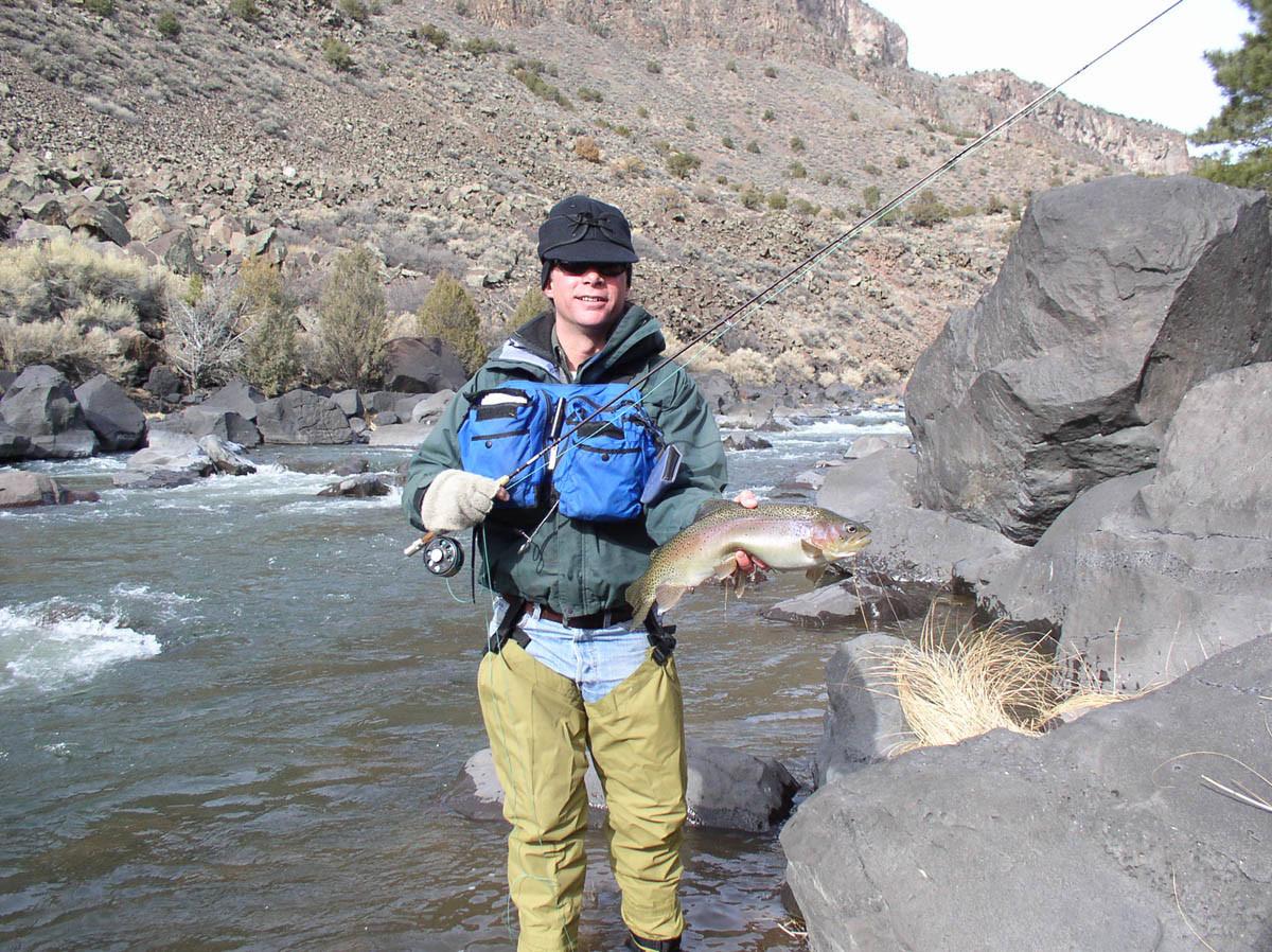 The Solitary Angler: Rio Grande Gorge