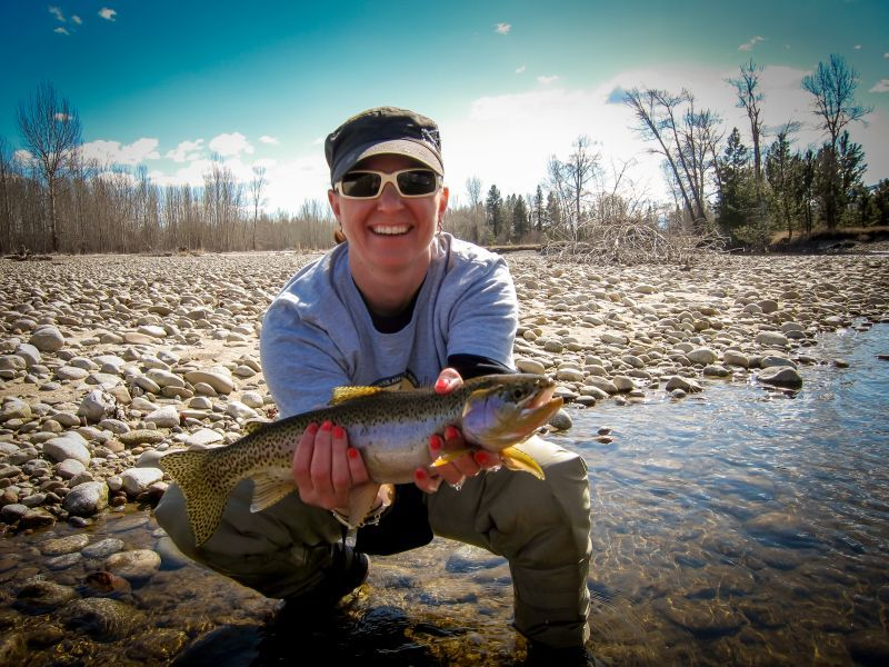 Tightloop Outfitters: 1/2 Day Float/Wade Trips