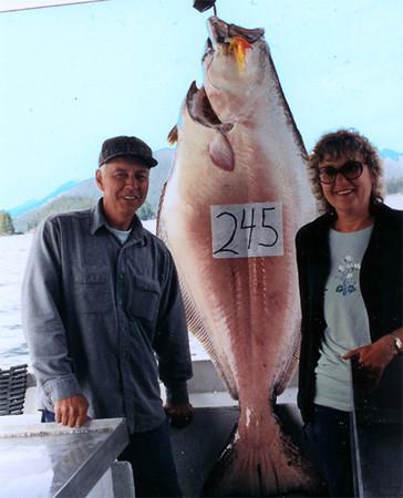 Alaska Coastal Guiding: Sally Girl  Fishing