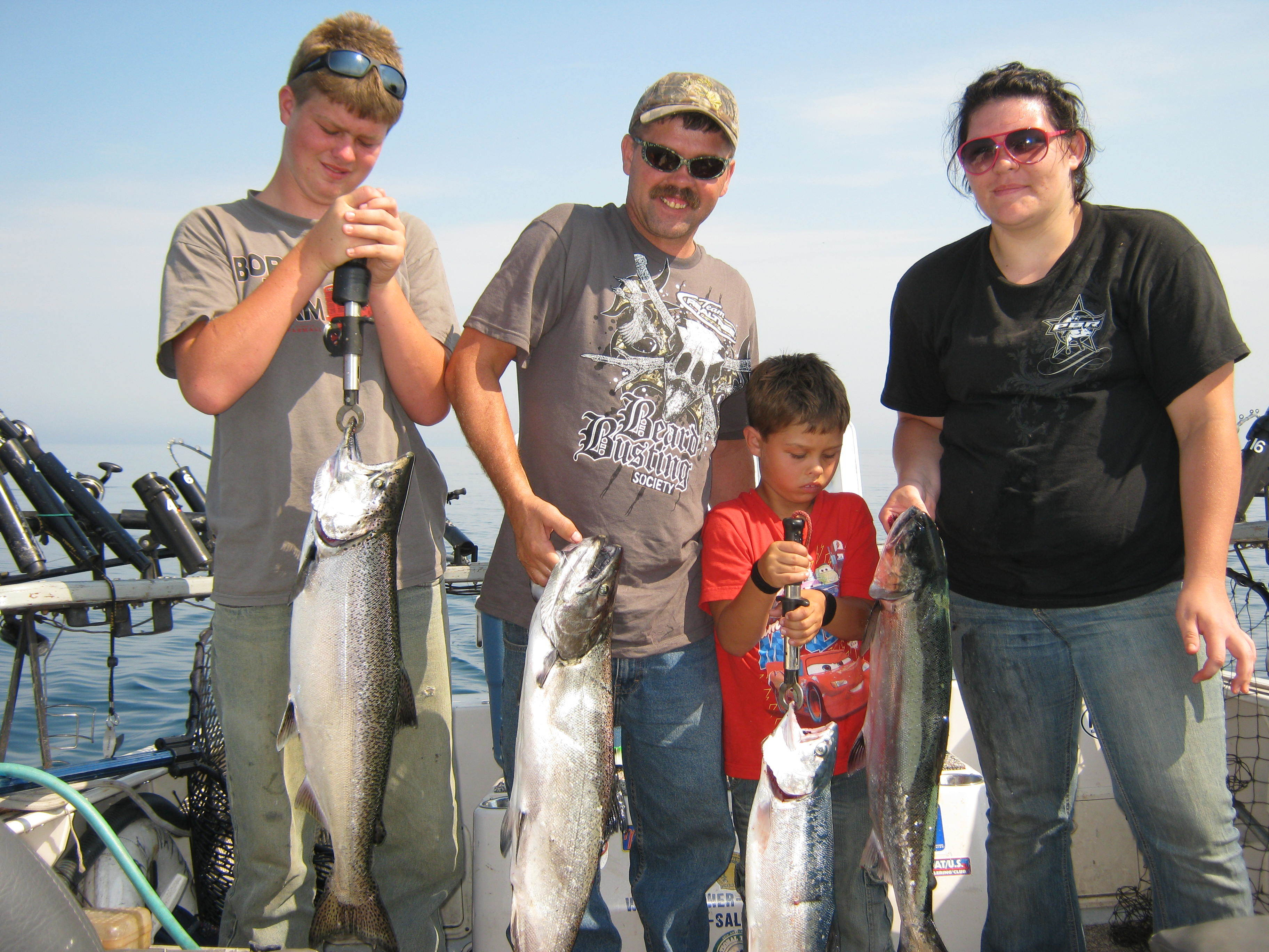 Brother Nature Charters: Salmon and Trout Fishing