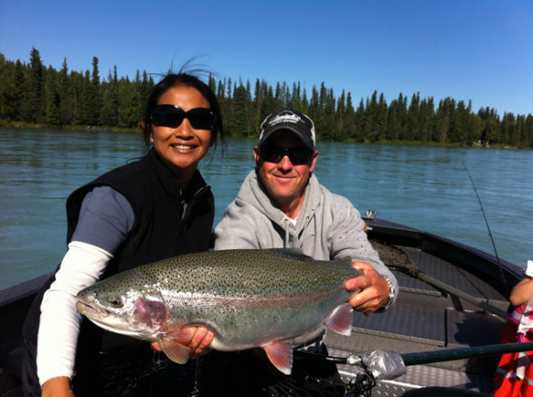 Mark Glassmaker Fishing Alaska: Silver Salmon