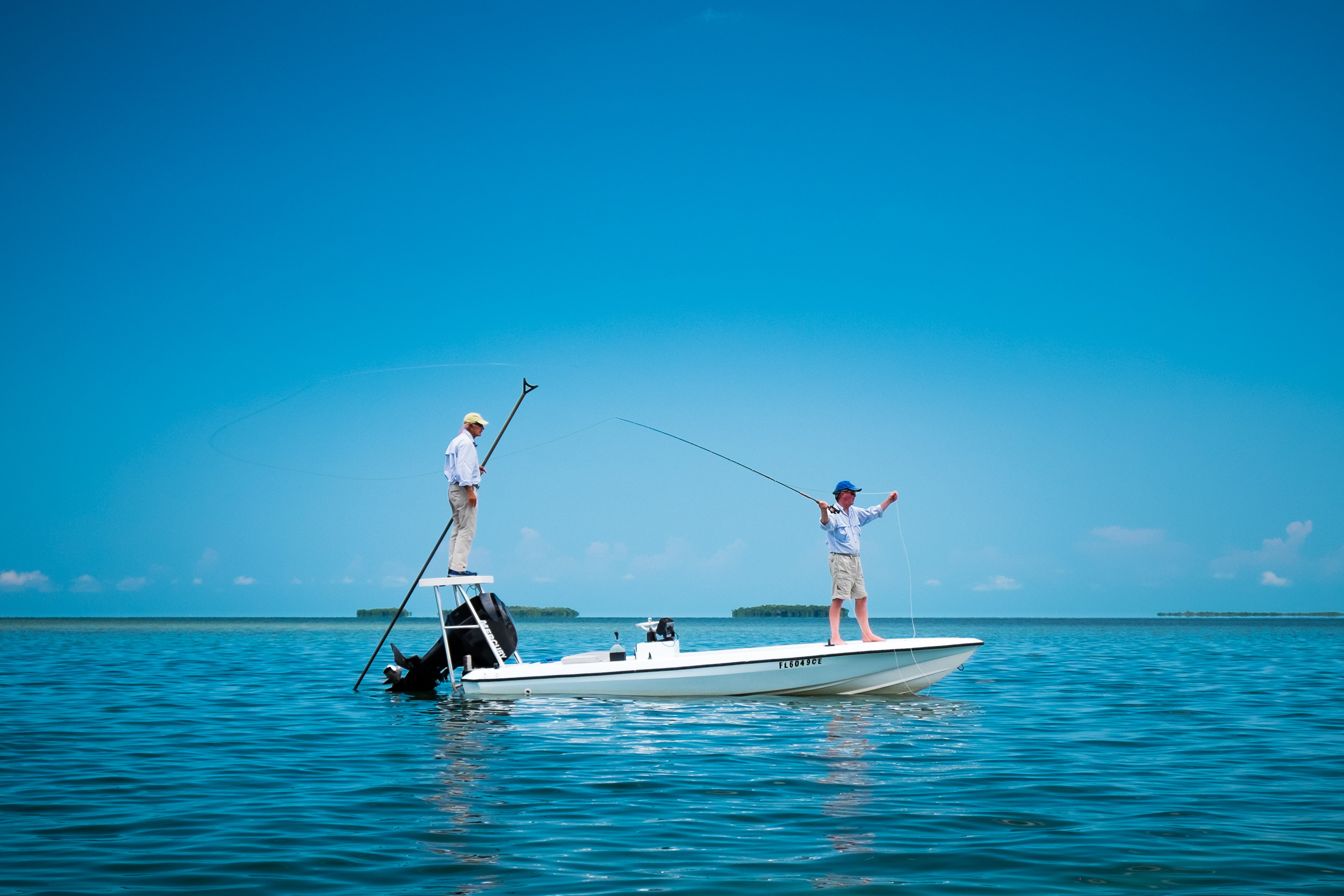 Capt Mike Wilbur Chaser Key West: Key West Flats Fishing
