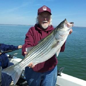 G.A. Miller And Robert Clark Striper Guide Service: Lake Texoma Trip 4 Person