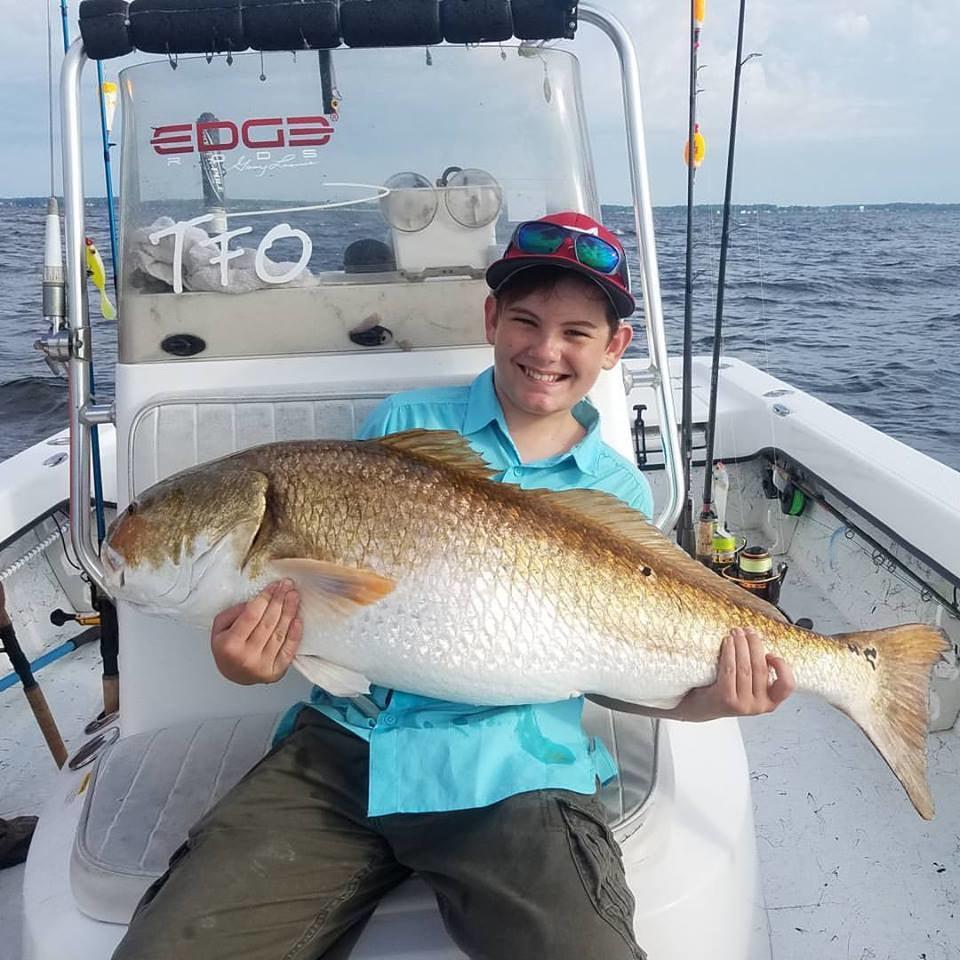 Spec Fever Guide Service: Trophy Redfish long half day