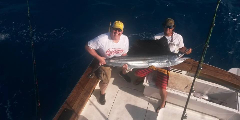 Lethal Weapon Charters: Example Full Day Trip