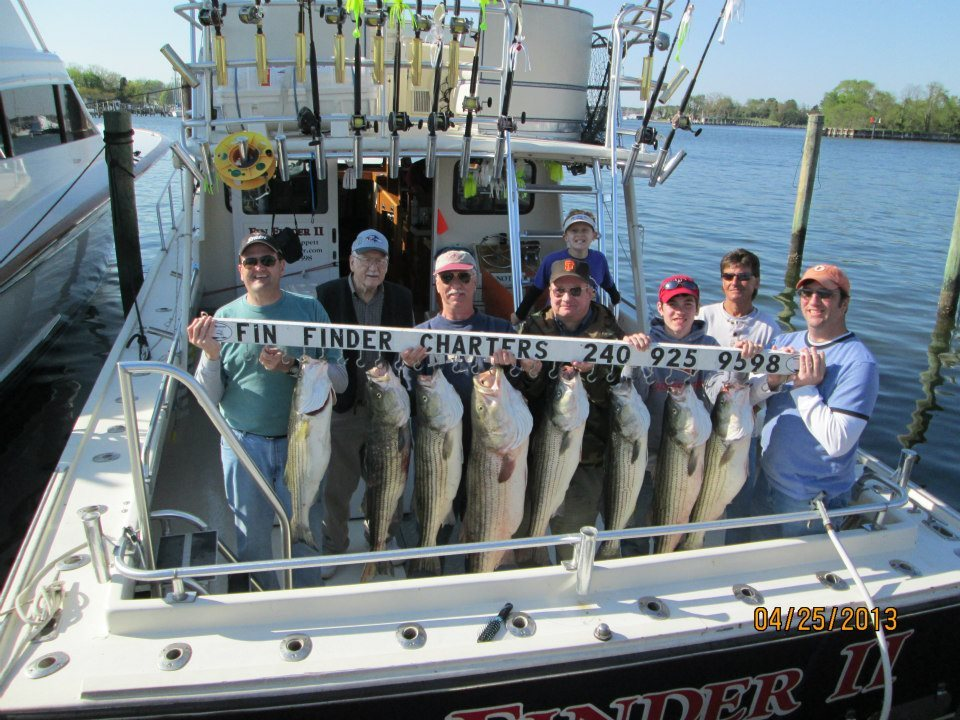 Fin Finder Fishing Charters: Summer Trip