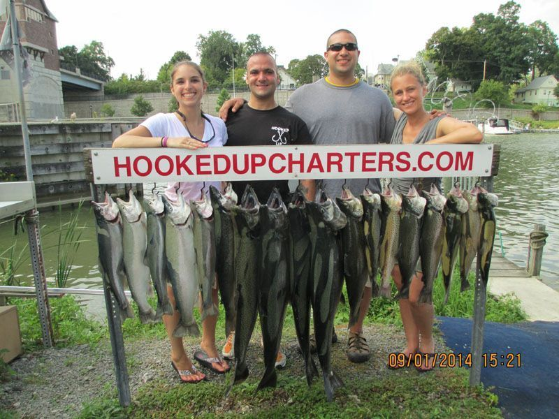 Hooked Up Fishing Charters: Full Day