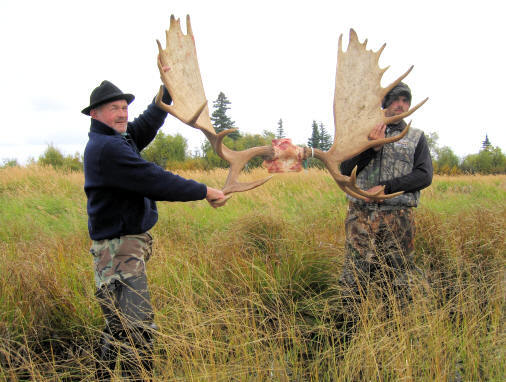 High Adventure Air Charter Guides & Outfitters:  Guided Moose  Hunt