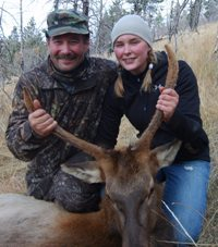 Flying J Outfitters: Spike Elk Guided Hunt