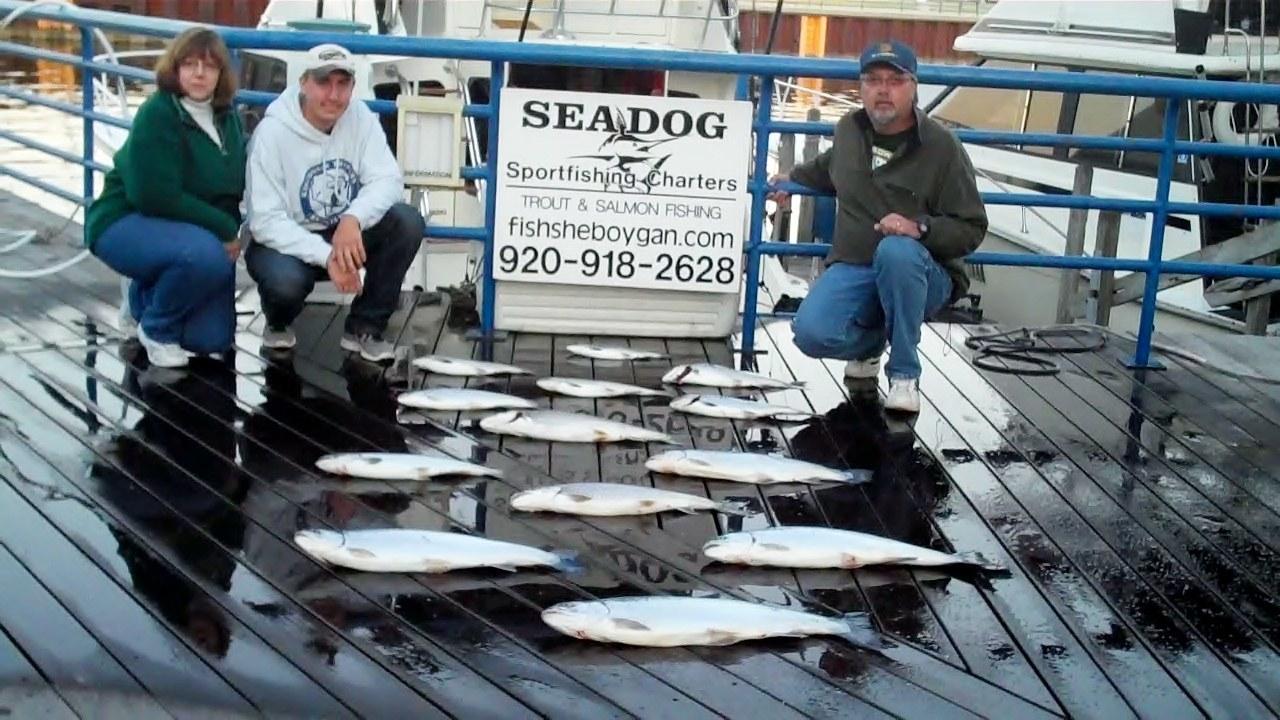 Sea Dog Sportfishing Charters Of Sheboygan: Evening Trips