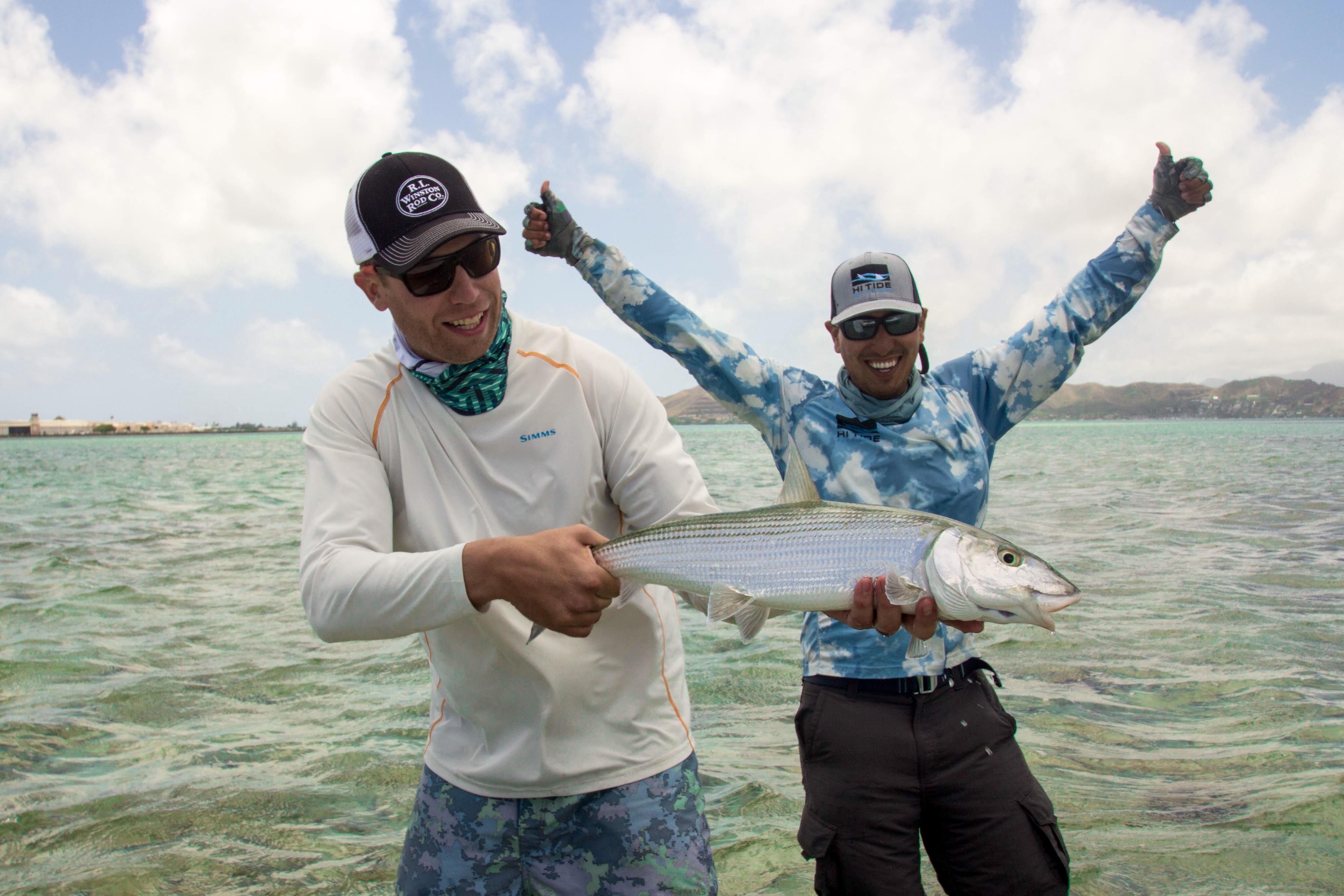 HI Tide Fishing: Oahu Hawaii Bonefish Trips