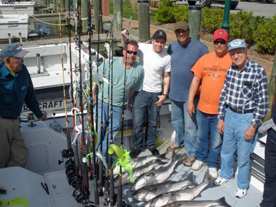 Bucktail Charters: Full Day Trip
