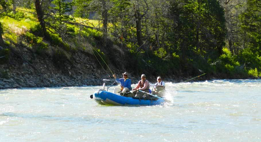 Tim Wade's North Fork Anglers: Float Trips