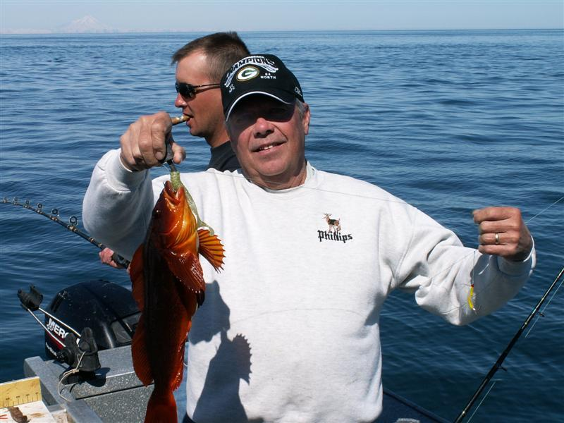 Wildrose Charters And Cabins: Ling Cod  Home July Trip