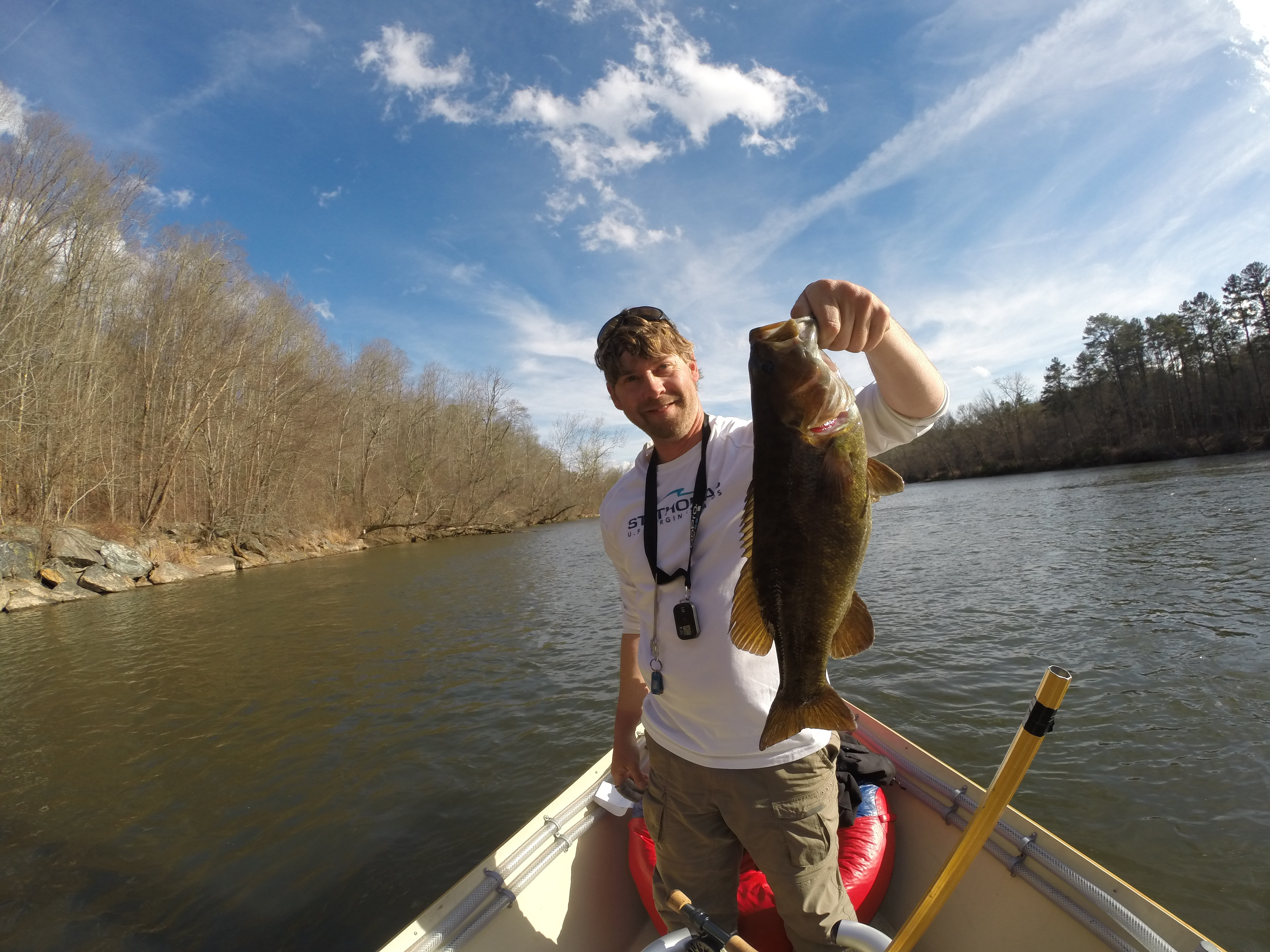 Asheville Fly Fishing Company: Half Day Float Smallmouth Bass