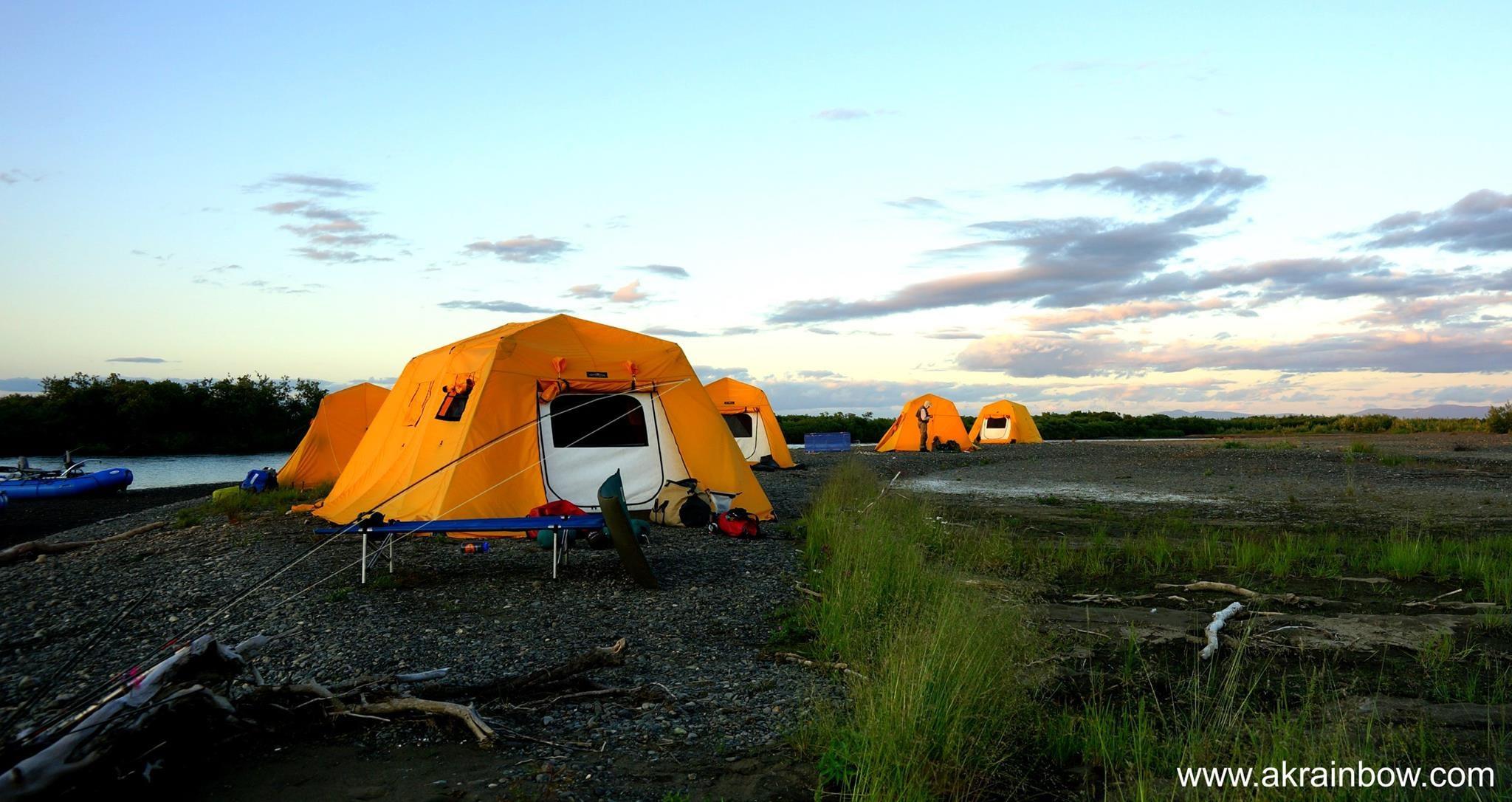 Alaska Rainbow Adventures: Kanektok River The Seasons Final Hurrah.
