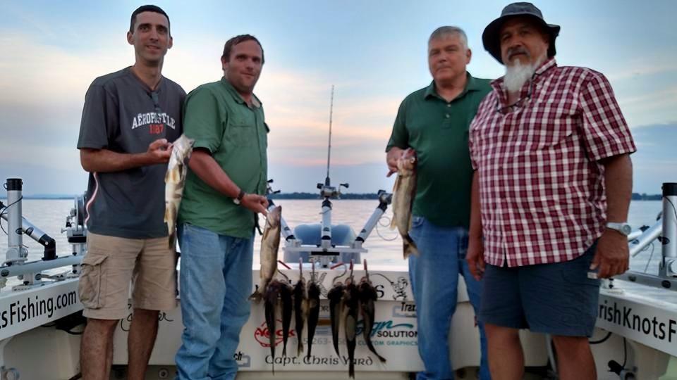 Irish Knots Sport Fishing: Oneida Lake and surrounding lakes
