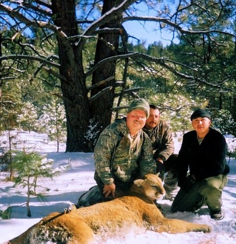 Sierra Blanca Outfitters: Mountain Lion Hunt