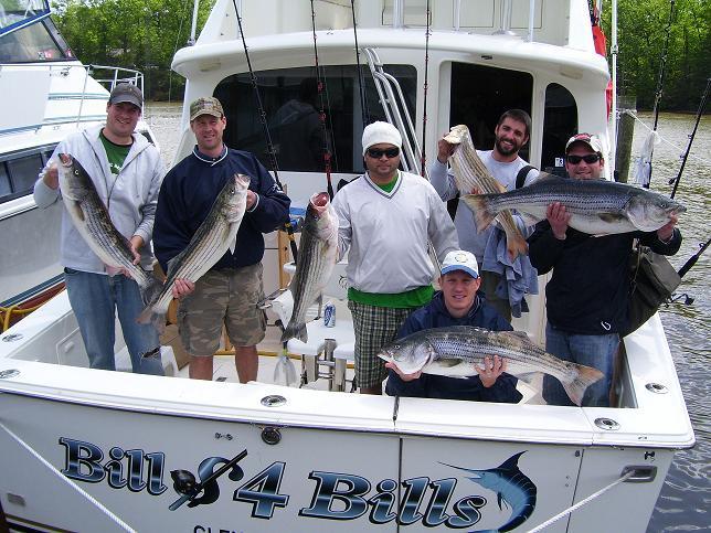 Bill 4 Bills Sportfishing: Chesapeake Bay Half Day