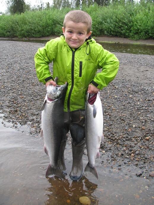 Deshka Wilderness Lodge: Five Day Fishing Package