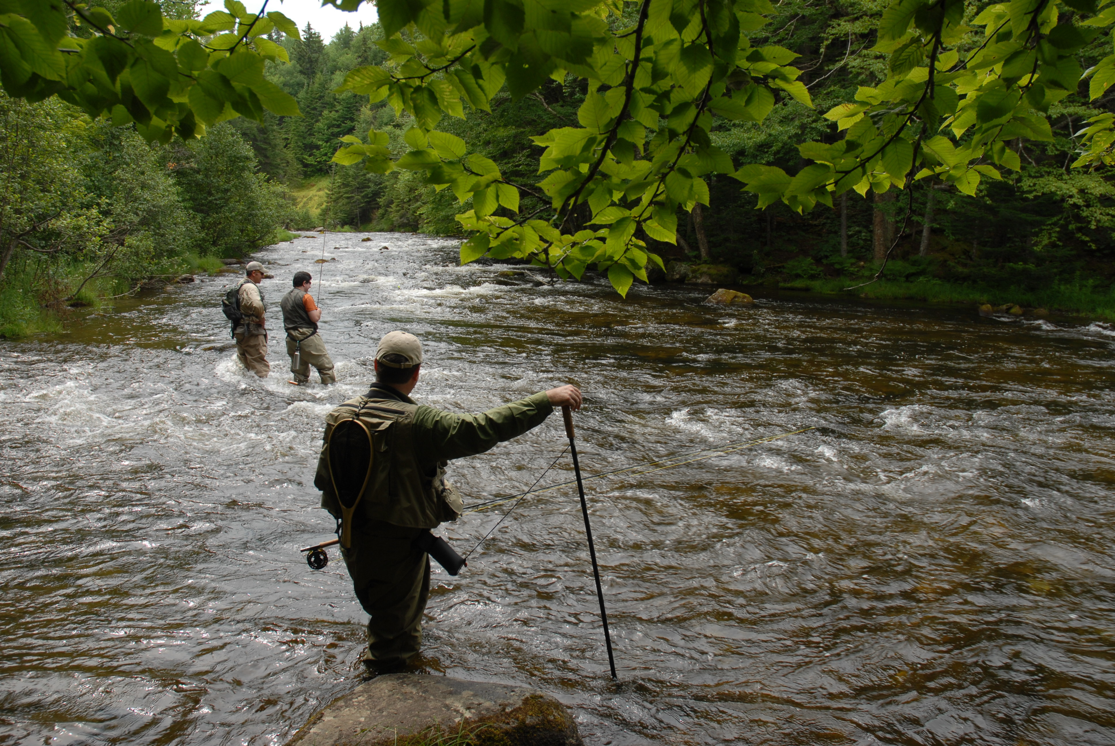 Lopstick Lodge And Cabins: Guided Fishing on the Upper COnnecticut RIver