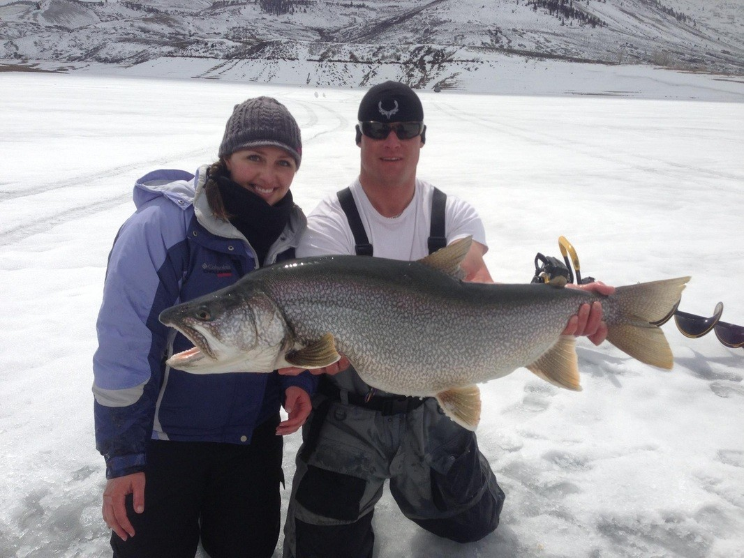 High Mountain Drifters Guide Service: Ice Fishing Trip
