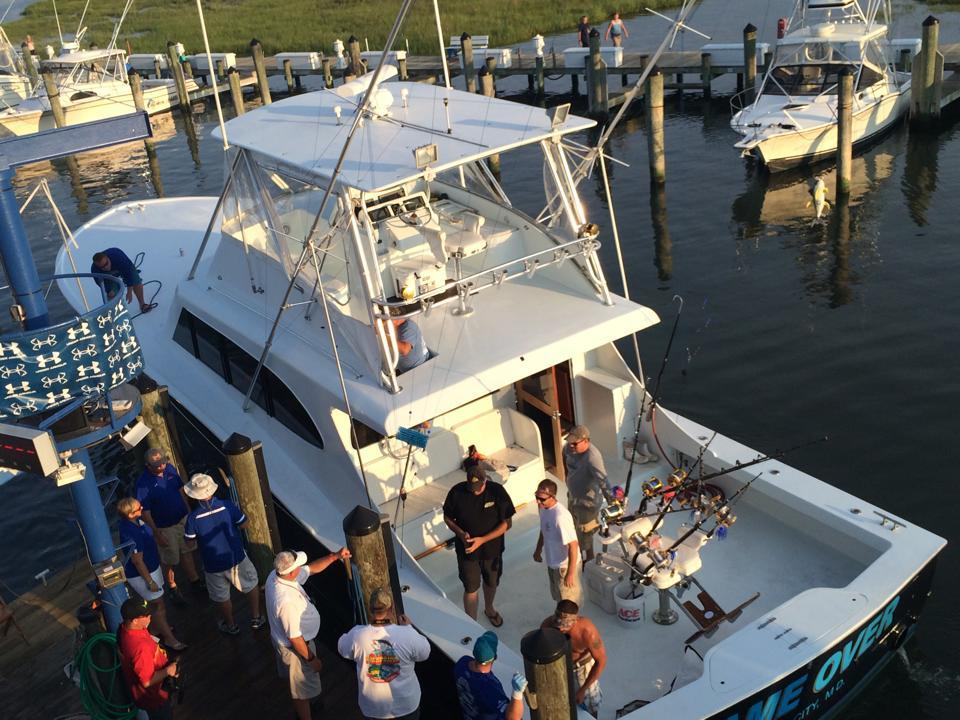 Game Over Charters: Shark Fishing Trip