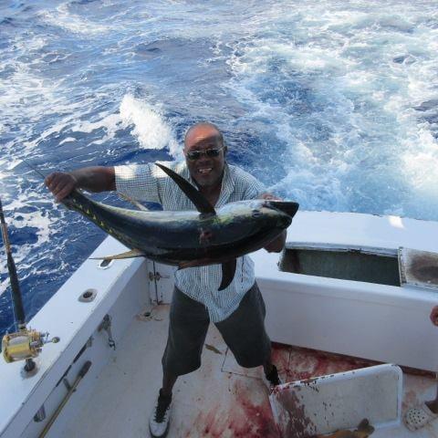 Gecko Sportfishing Charters: Half Day (26 ft. Drumrunner)