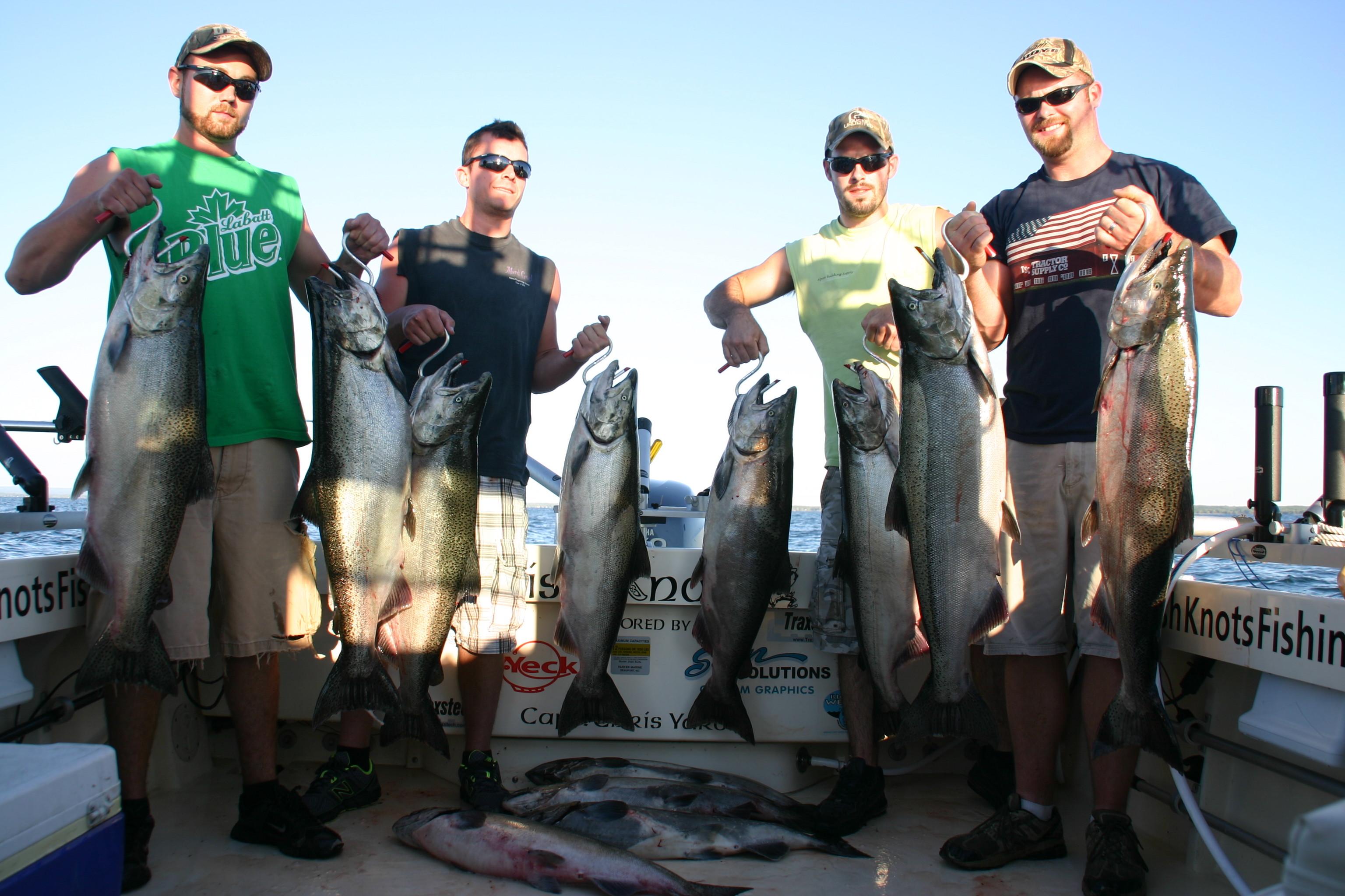 Irish Knots Sport Fishing: Irish Knots Lake Ontario Charter