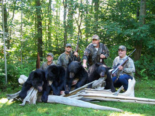 Stony Brook Outfitters: Bear Hunts