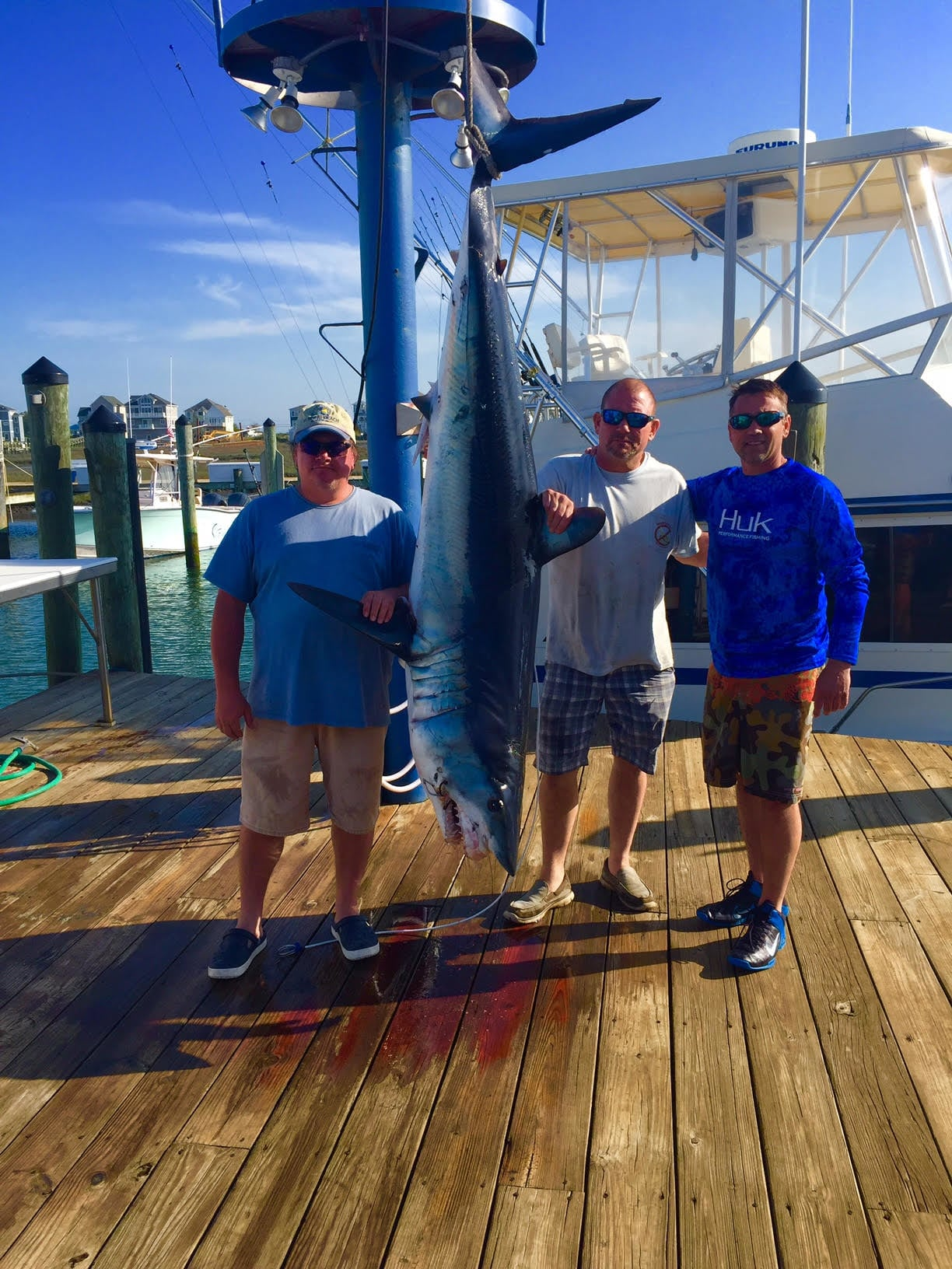 Finatic Sportfishing Charters: 30 hour overnight trip