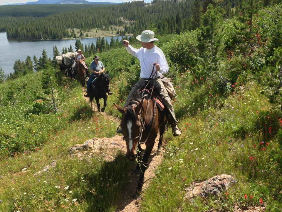 Cache Creek Outfitters: Horseback / Fishing Trips