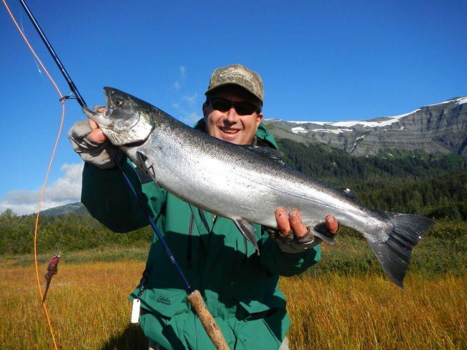 Icy Bay Lodge: Fall Silver Salmon trips