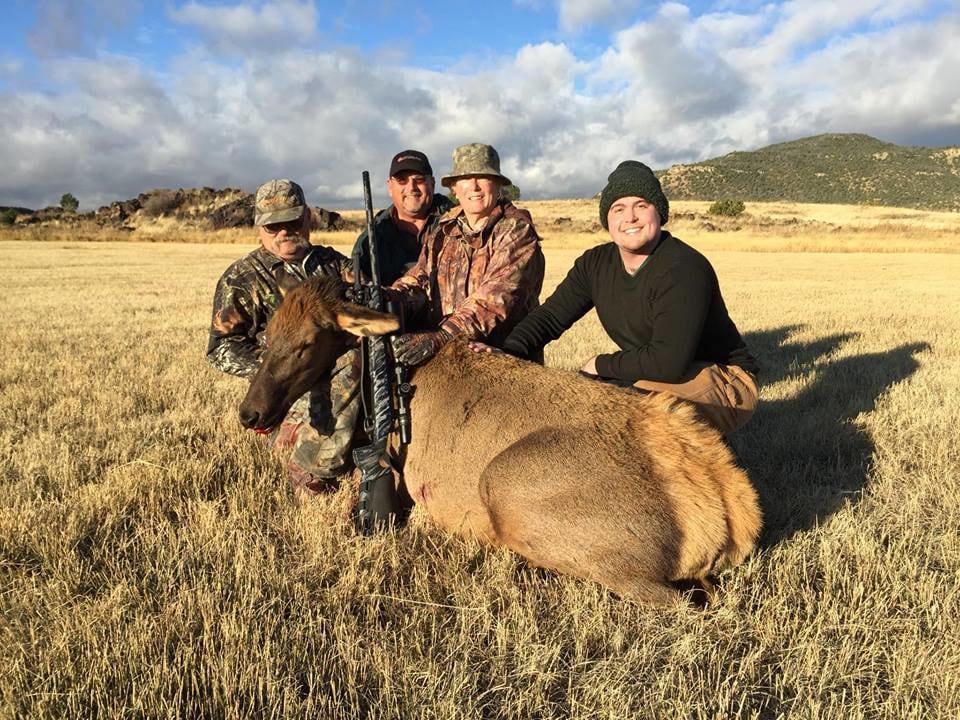 New Mexico Trophy Hunt : Cow Elk Hunt