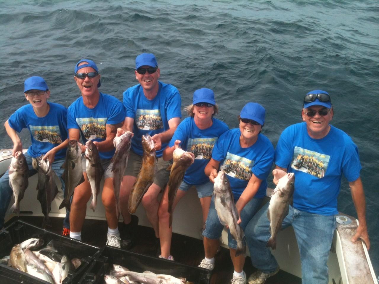 Tuna Hunter Fishing Charters: Striped Bass &/or Bluefish Fishing Full Day