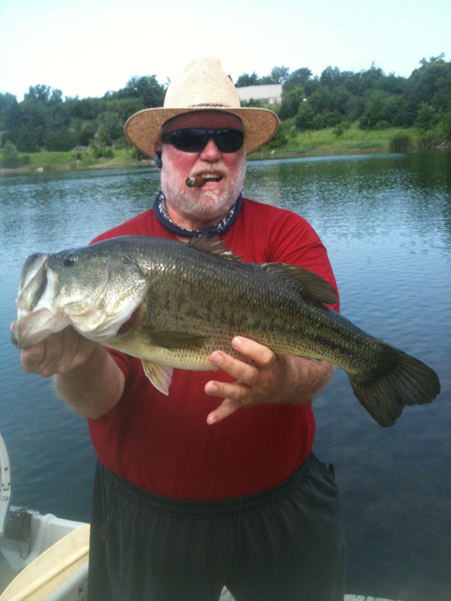 Meadow Lake Ranch: Trophy Bass Fishing Half Day