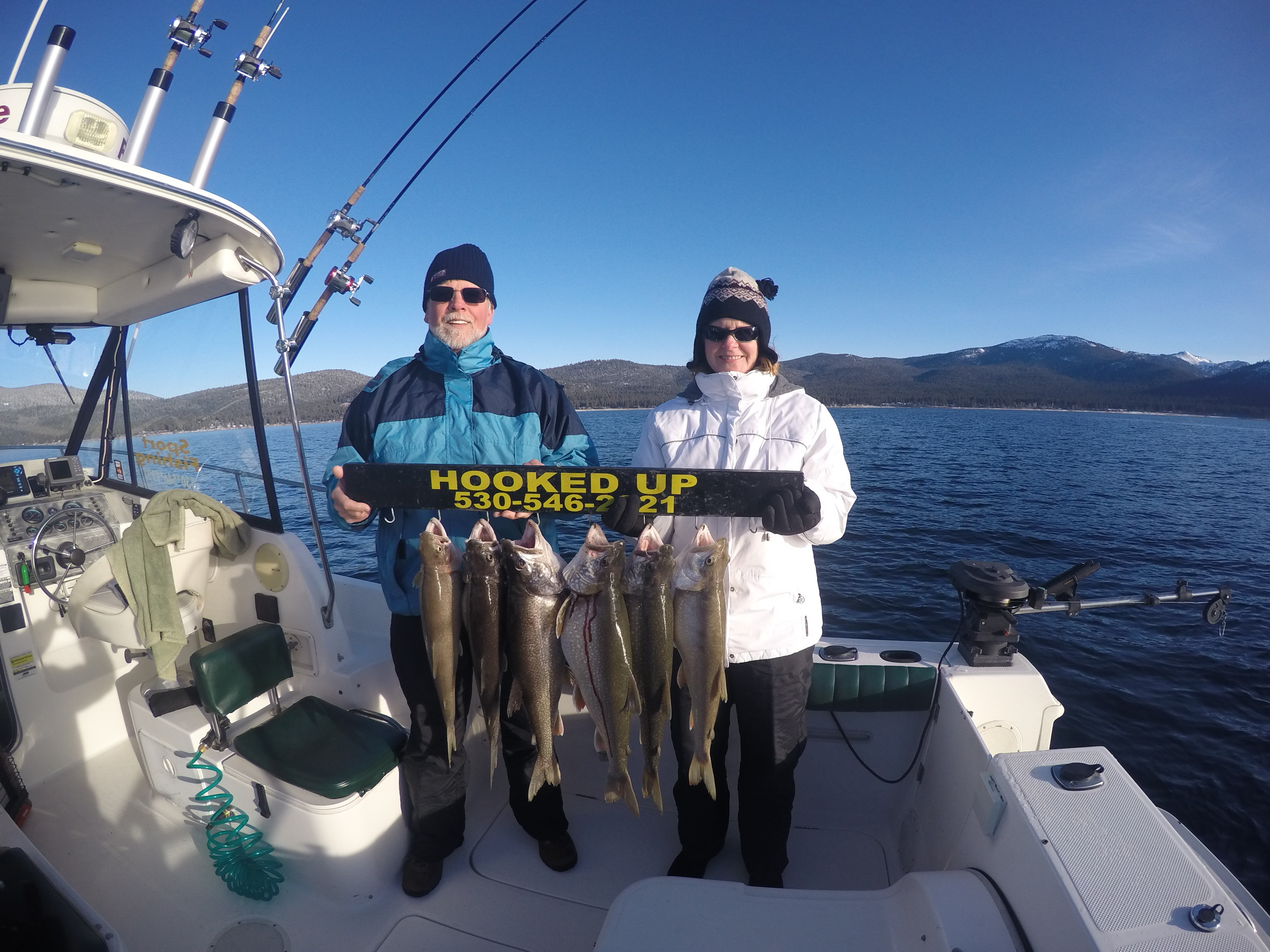Hooked Up Sport Fishing: Fishing Lake Tahoe