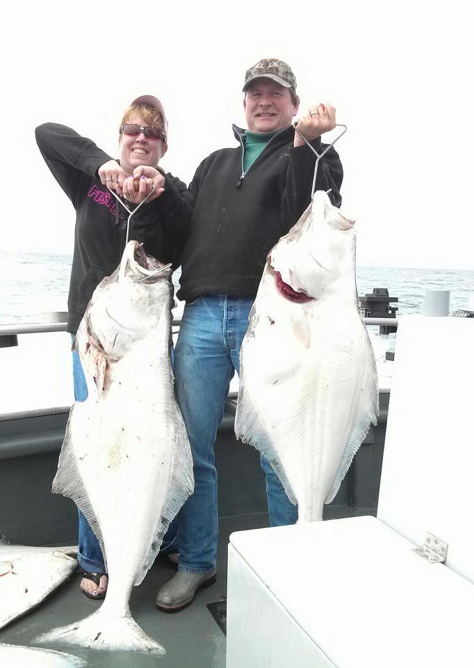 Jambo's Sportfishing: Canadian Halibut*/Ling Cod