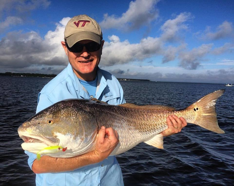 Bounty Hunter Guide Service : Neuse River Giant Redfish 3/4 day