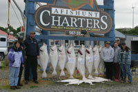 Afishunt Charters Inc: ook Inlet Halibut Fishing