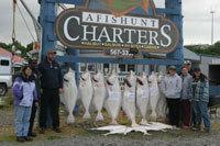 Afishunt Charters Inc: ook Inlet Halibut Fishing