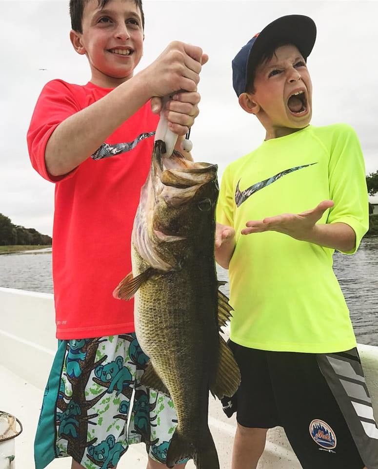 South Florida Bass Charters: Blacktip H Full Day Trip