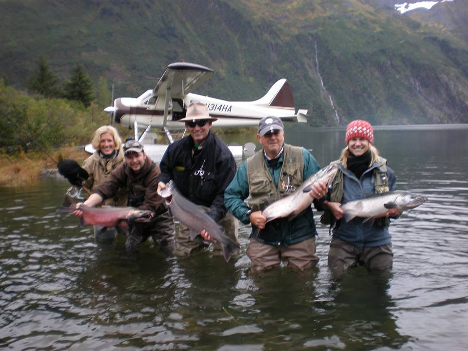 High Adventure Air Charter Guides & Outfitters: Sockeye Salmon Fishing