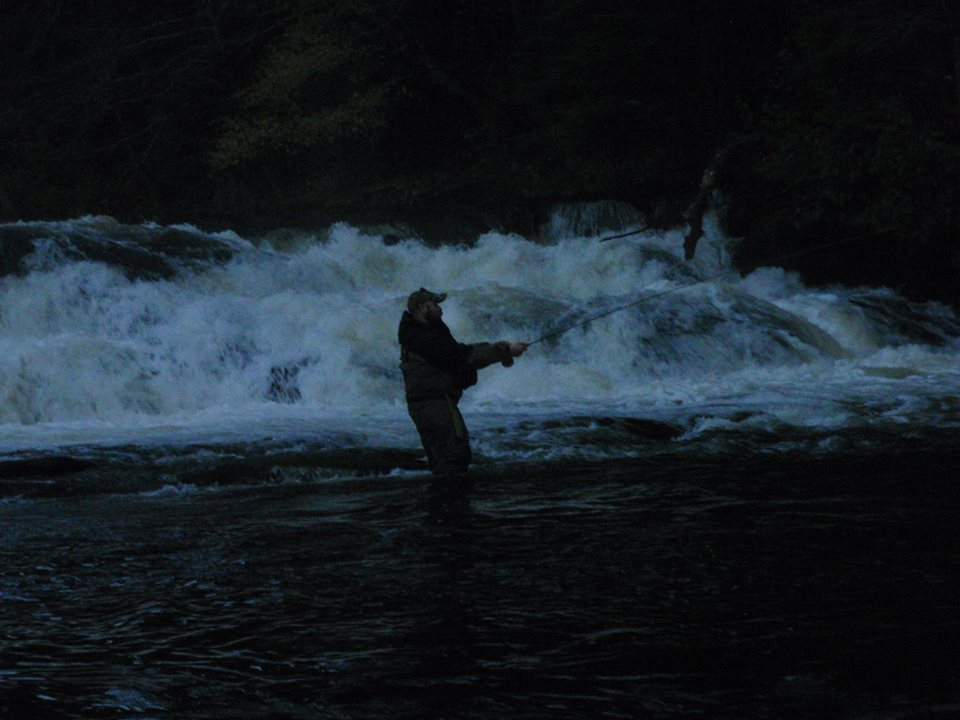 New England's Guide Service Llc.: Guided Night Fishing